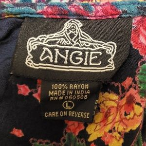 Angie Dresses - Angie Open Back Floral Dress